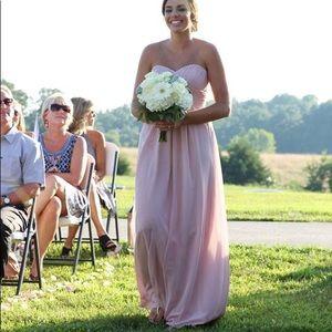 Jasmine dusty rose/pink formal bridesmaid dress
